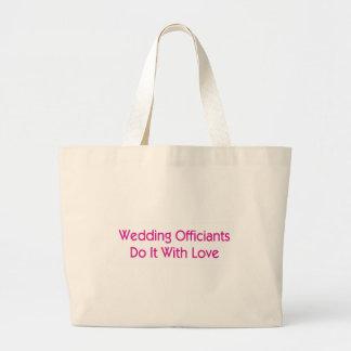 Wedding Officiants Jumbo Tote Bag