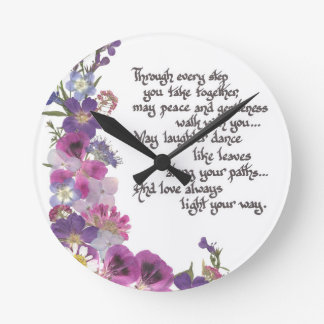 Wedding or Engagement Gift Wallclocks