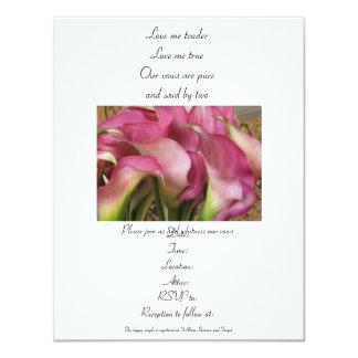 Wedding or vow renewal Invitation