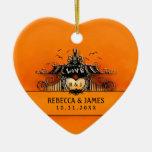 Wedding Ornament - Halloween Love