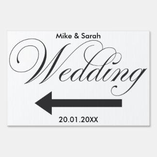 Wedding Outdoor yard sign