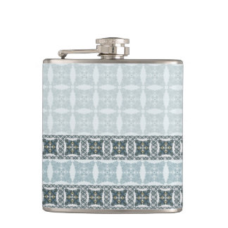 Wedding paisley tradition elegant pattern flask