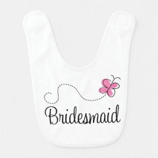 Wedding Party Bridesmaid Baby Bib