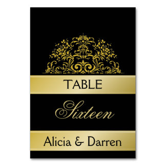 Wedding/ Party Table Number
