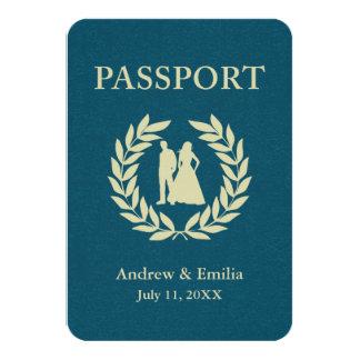 wedding passport card