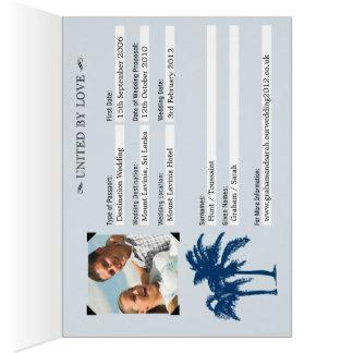 Wedding Passport Invitation to Sri Lanka