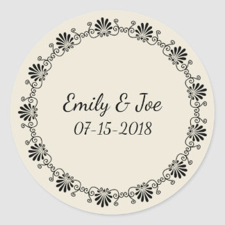 Wedding personalized stickers
