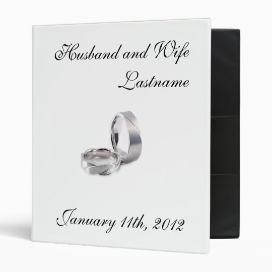 Wedding Photo Album - Customizable Binder