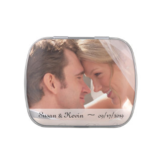 Wedding Photo Candy Tins