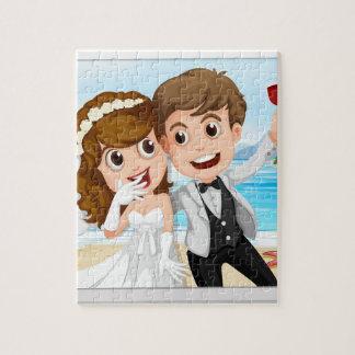 Wedding photo jigsaw puzzle