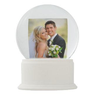 Wedding Photo Personalized Snow Globe