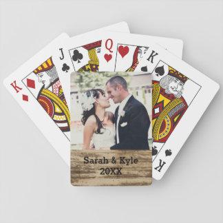 Wedding Photo Playing Cards