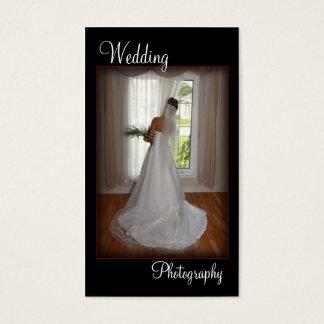 Wedding Photography Portrait Business Card