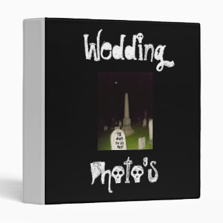 Wedding, Photo's-Till Death Do We Part-Binder Binders