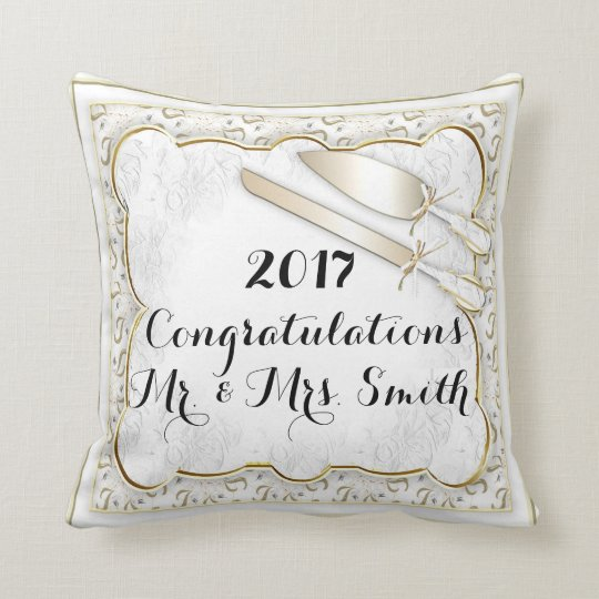 WEDDING  PILLOW THROW PILLOW 16 X 16