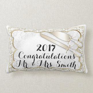 WEDDING  PILLOW THROW PILLOW Lumbar Pillow 13 x 21