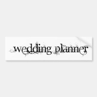 Wedding planner autocollants pour voiture