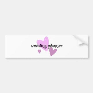 Wedding planner adhésif pour voiture