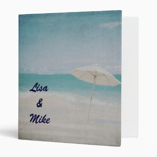 Wedding Planner beach Binder