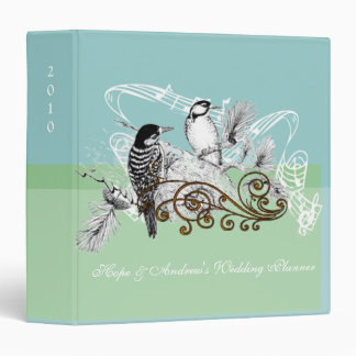 Wedding Planner Binder Vintage Love Birds