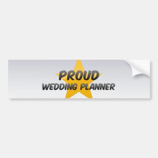 Wedding planner fier autocollants pour voiture