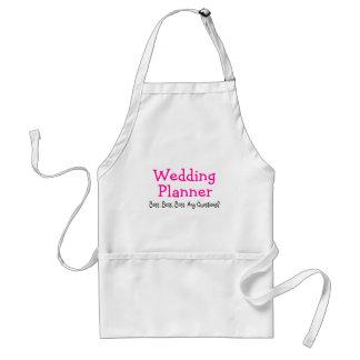 Wedding Planner Standard Apron