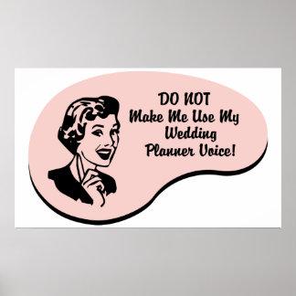 Wedding Planner Voice Poster