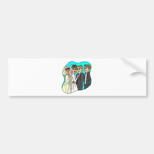 Wedding Planning 42 Bumper Sticker