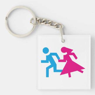 wedding porte-clés
