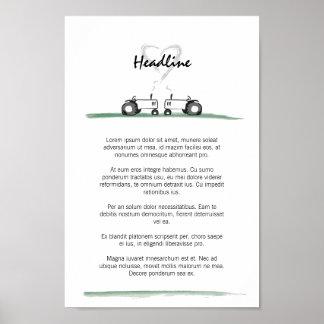 Wedding Poster / Menu Template