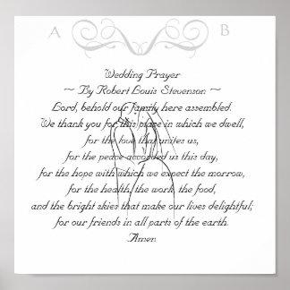 Wedding Prayer Keepsake Print