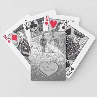 Wedding Proposal Playing Cards