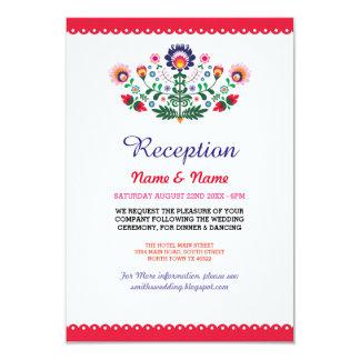 Wedding Reception Fiesta Cards Mexican Inserts