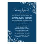 Wedding Rehearsal and Dinner Invitations   Navy