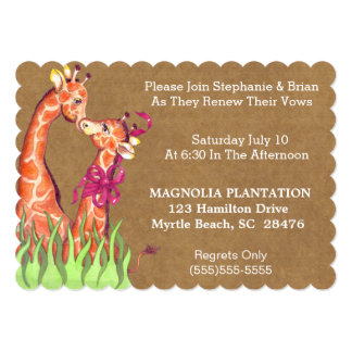 Wedding Renewal Invitation