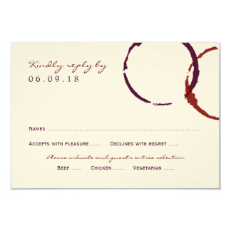 """Wedding Reply Card 
