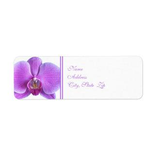 Wedding Return Address Label -- Wedding Orchid