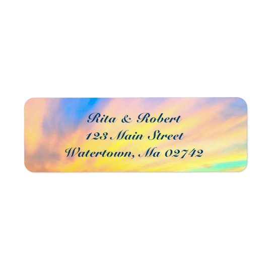 Wedding Return Address Labels - Save the Date