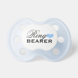 Wedding Ring Bearer | Boy's Custom Baby Pacifier