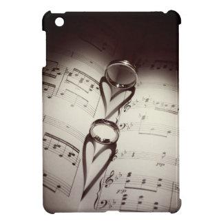 Wedding Ring Hearts Music iPad Mini Cases