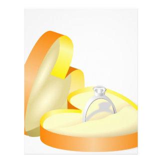 Wedding Ring in a Box Letterhead