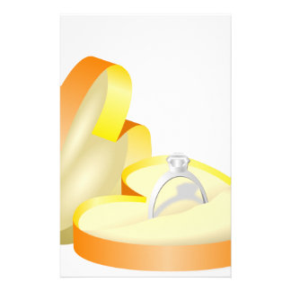 Wedding Ring in a Box Stationery