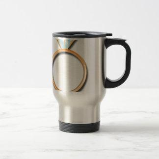 Wedding Ring Stainless Steel Travel Mug