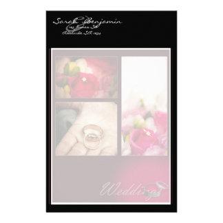 Wedding Ring Themed Custom Stationery