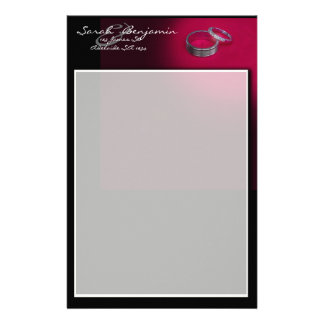 Wedding Ring Themed Customized Stationery