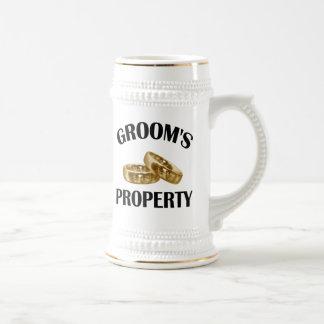Wedding Rings Beer Stein