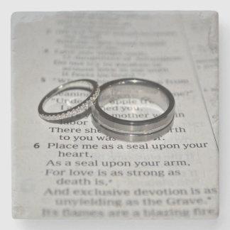 Wedding Rings Coasters