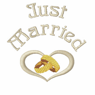 Wedding Rings Heart - Just Married