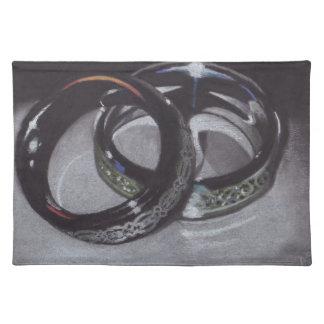 Wedding Rings Placemat