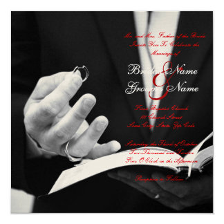 Wedding Rings Wedding+invitation Card